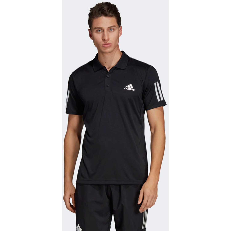 Adidas CLUB 3STR POLO Negro Camisetas y Polos Deportivos