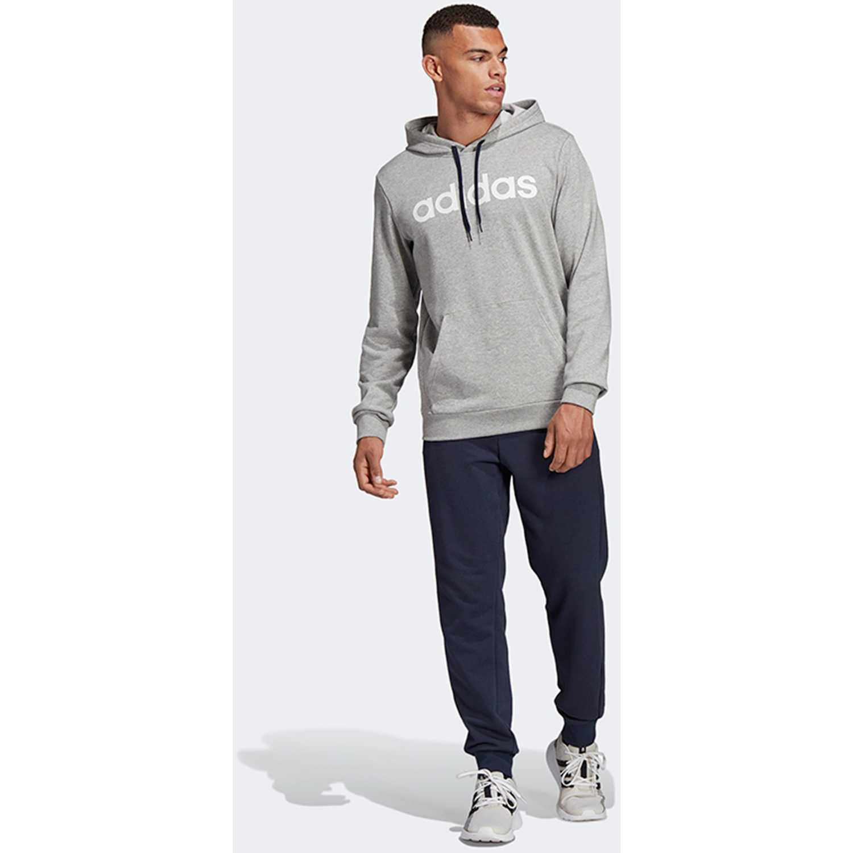 Buzo de Hombre Adidas Gris / Navy mts co ho