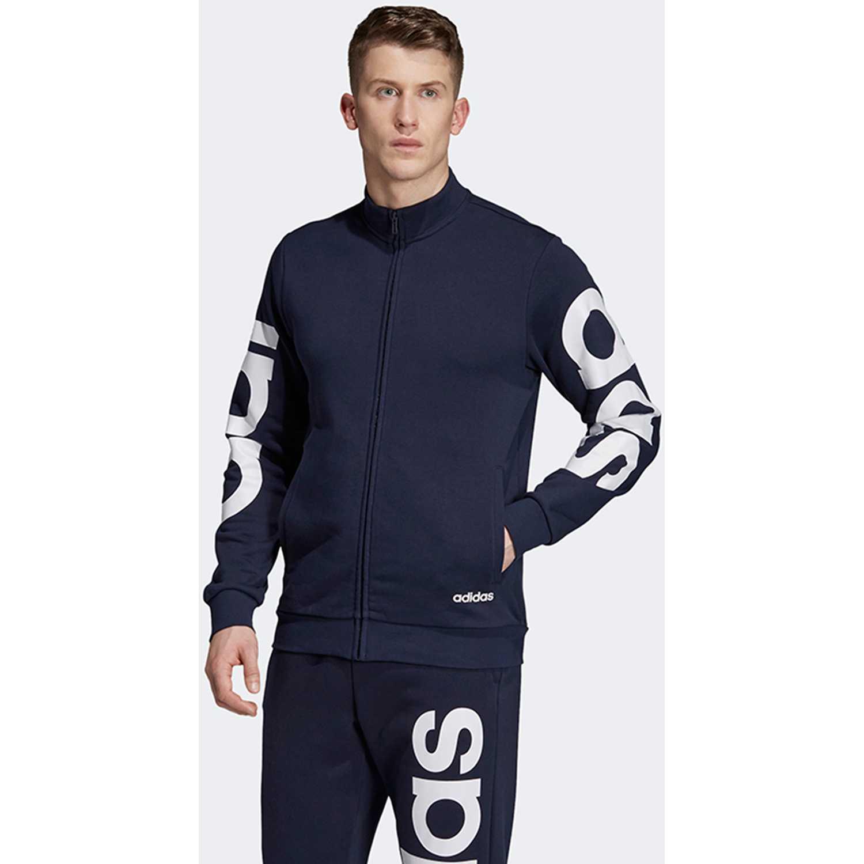 Casacas de Hombre Adidas Navy / Blanco e brand tt