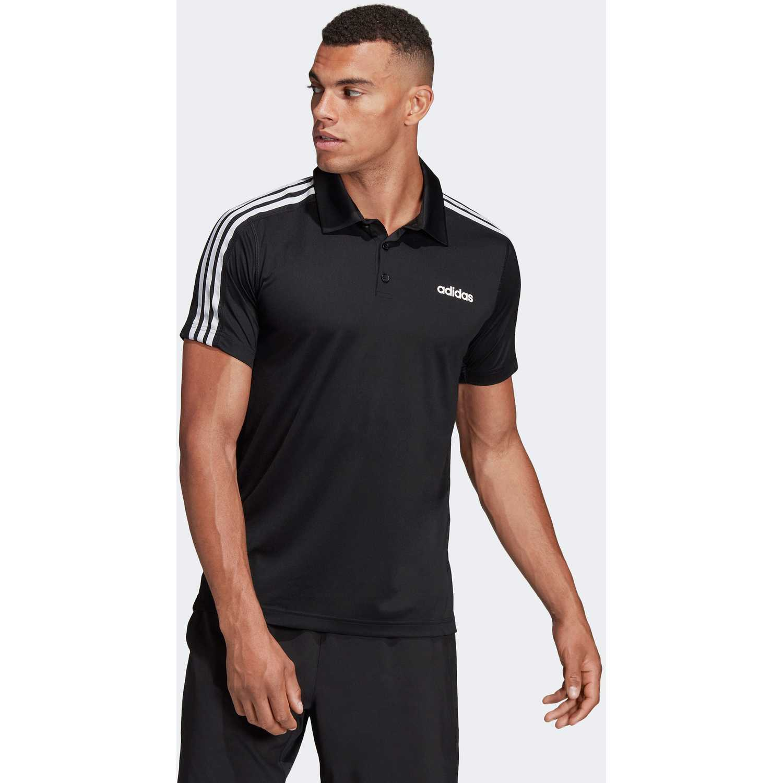 Hombre Adidas Polo Negro 3s De Camiseta D2m AcL3j4q5R