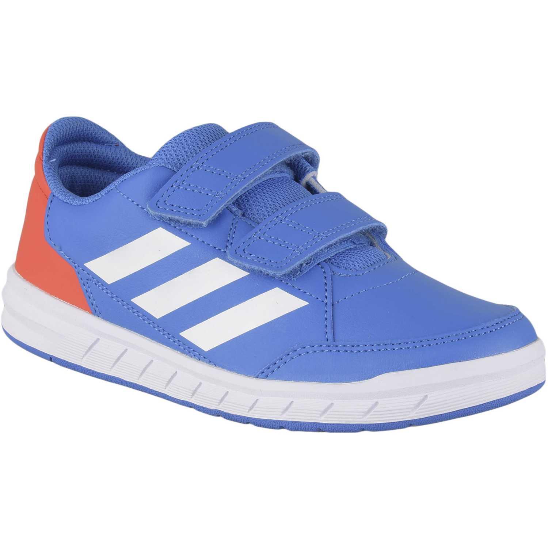 Zapatilla de Jovencito Adidas Azulino altasport cf k