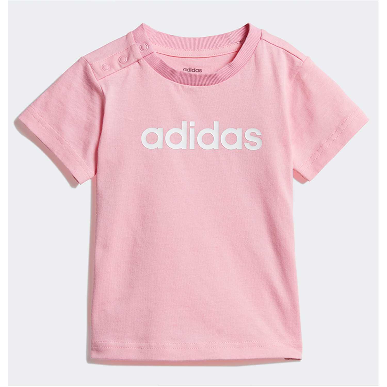 Adidas i lin tee Rosado Polos