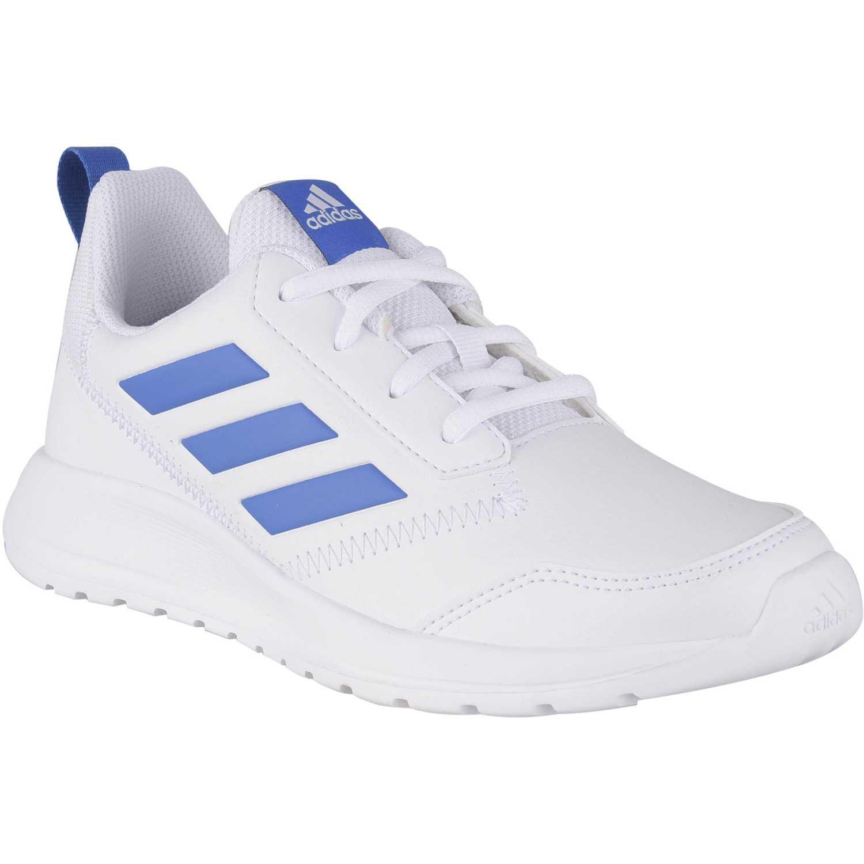 Adidas altarun k Blanco / azul Muchachos