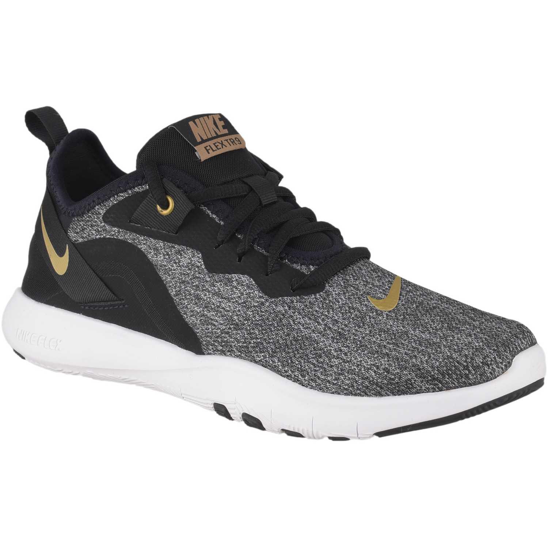Nike wmns nike flex trainer 9 Negro / plomo Mujeres