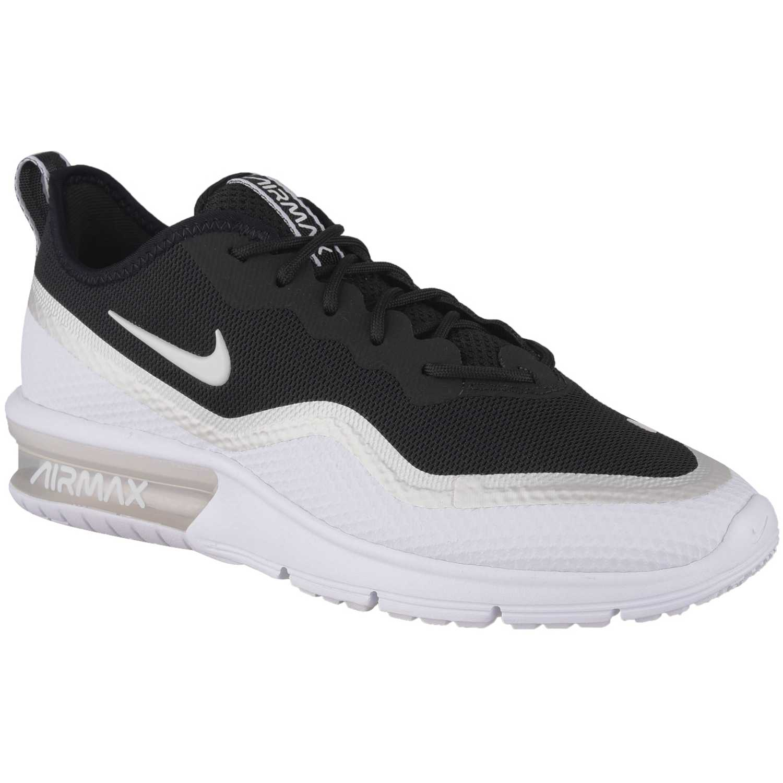 Zapatilla de Mujer Nike Blanco / negro wmns nike airmax sequent 4.5 se