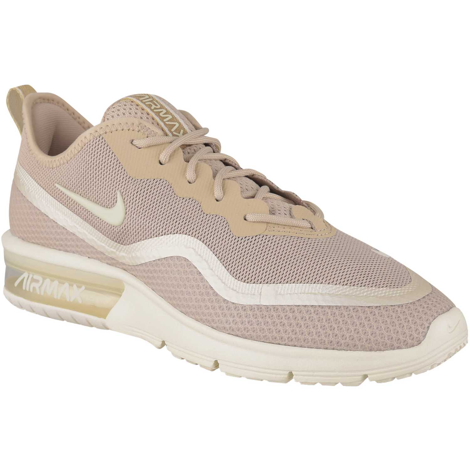 Deportivo de Mujer Nike Beige / blanco wmns nike airmax sequent 4.5 se