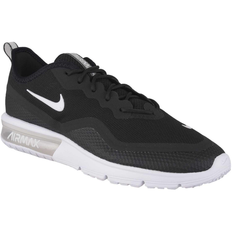 Nike nike air max sequent 4.5 Negro / blanco Running en ...