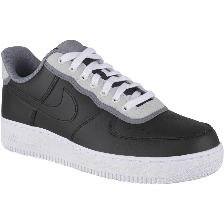 Casual de Hombre Nike Negro / blanco air force 1 '07 lv8 1