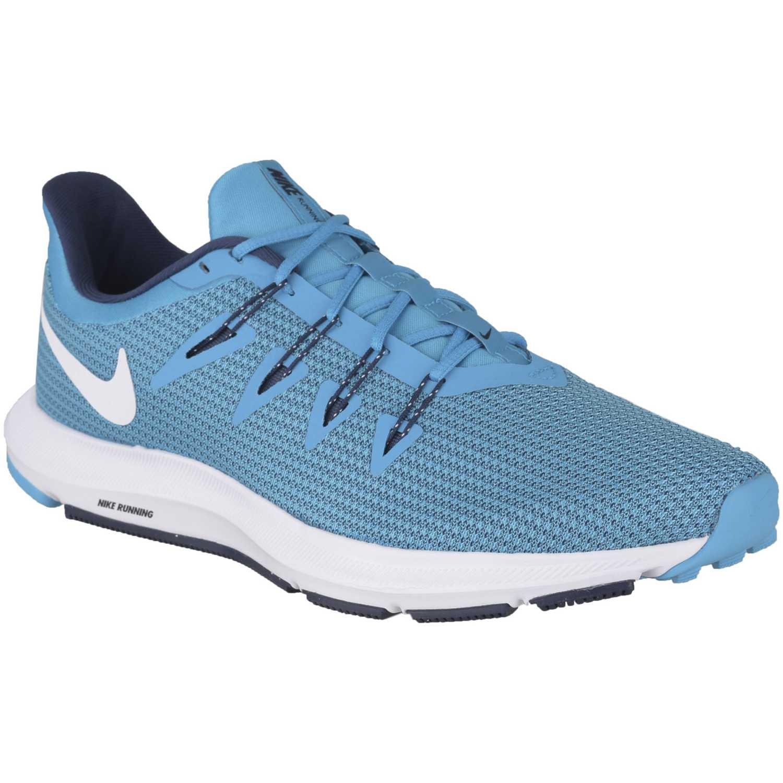 Nike nike quest Celeste / blanco Running en pista