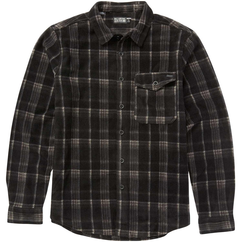 Billabong Furnace Flannel Negro Camisas de botones