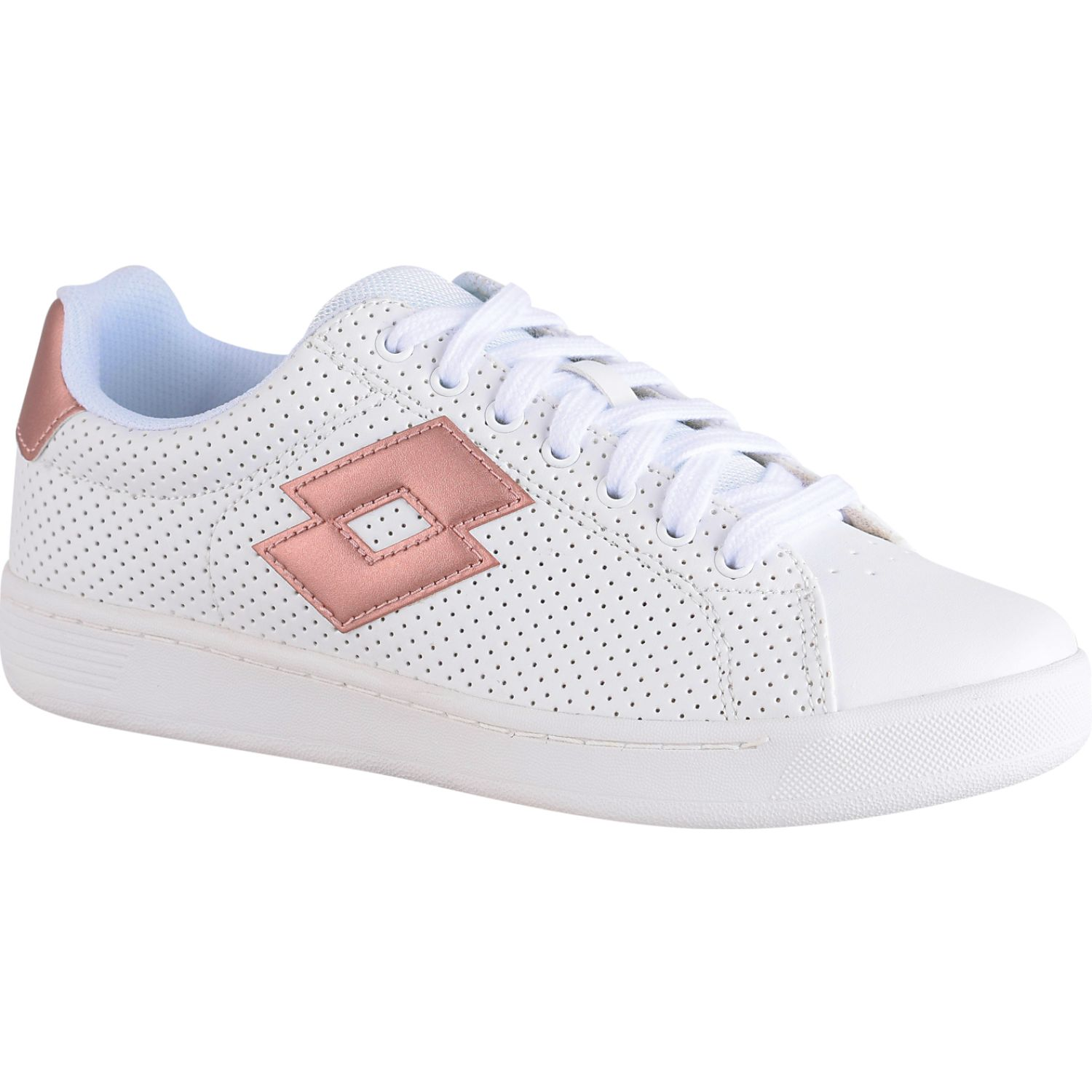 Lotto 1973 ix micro w Blanco / rosado Walking