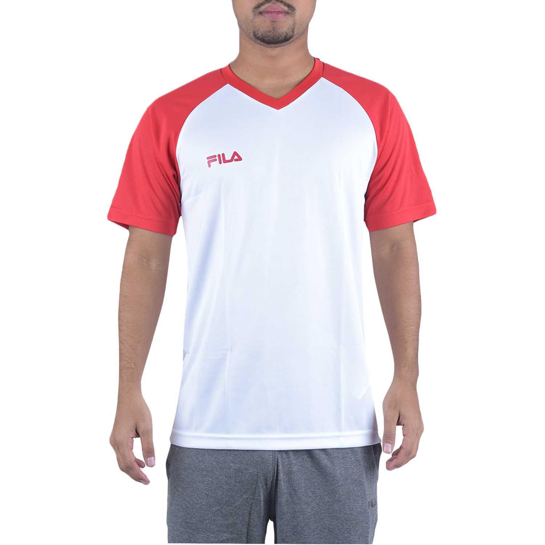 Fila camiseta masc. fila vitalli ii Blanco Camisetas y Polos Deportivos
