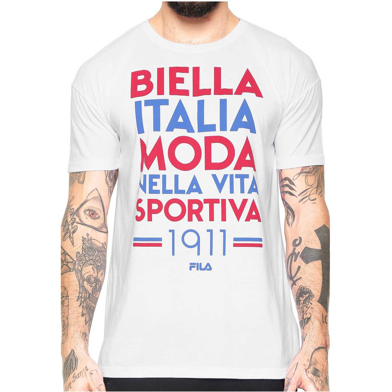 Fila camiseta masc. fila moda 1911 Blanco Camisetas y Polos Deportivos