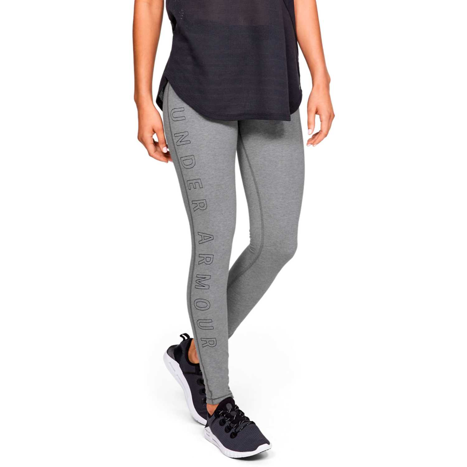 Under Armour favorite legging wm ar Gris Leggings Deportivos