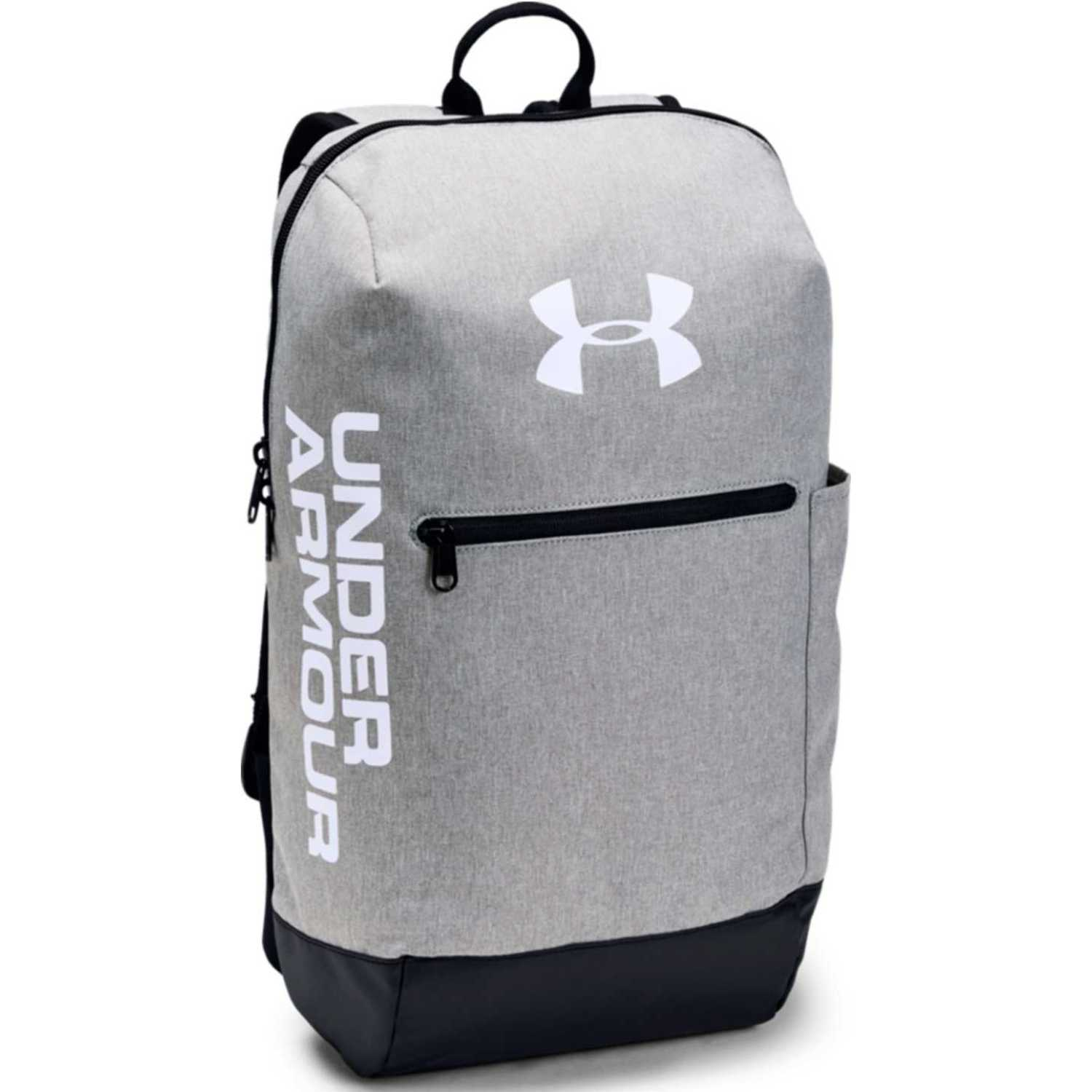 Under Armour UA Patterson Backpack-GRY Gris / blanco Mochilas Multipropósitos