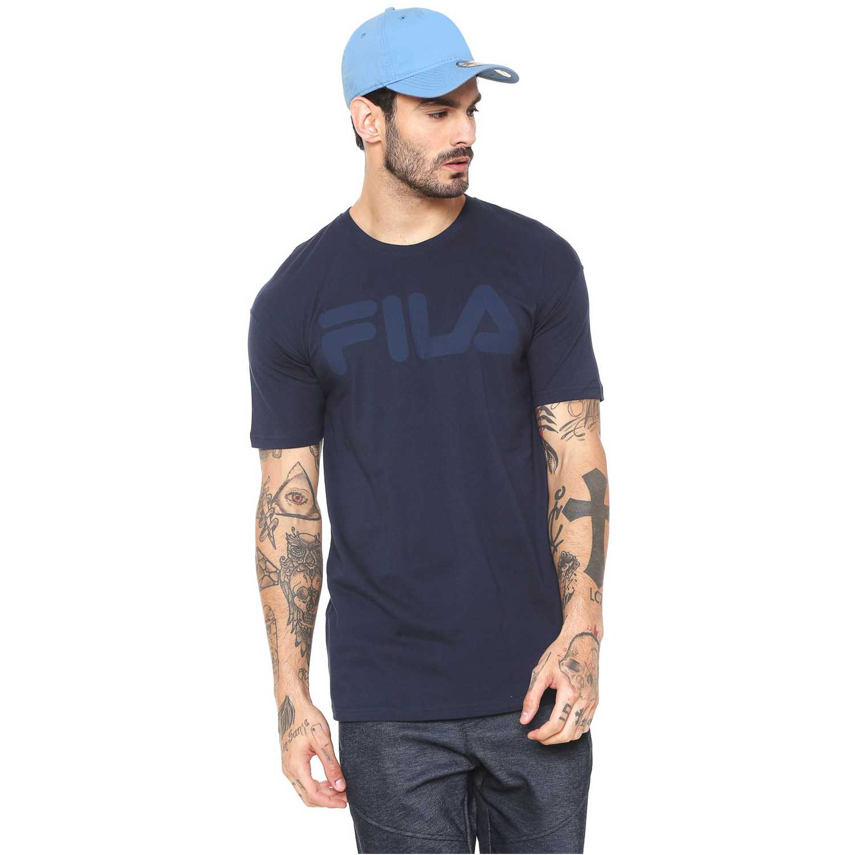Fila camiseta masc. fila chroma Navy Camisetas y Polos Deportivos
