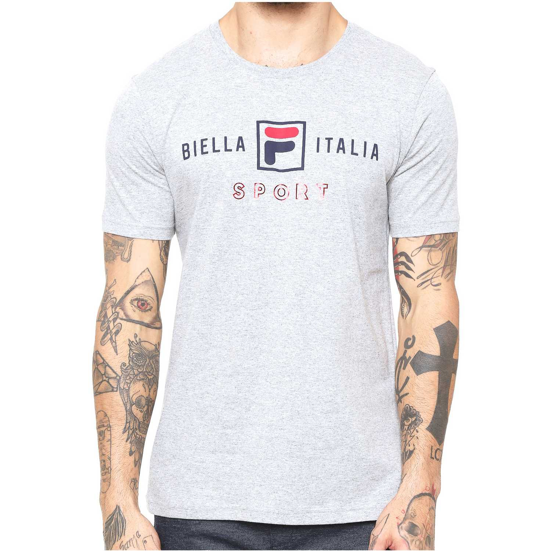 Polo de Hombre Fila Gris camiseta masc. fila block colors
