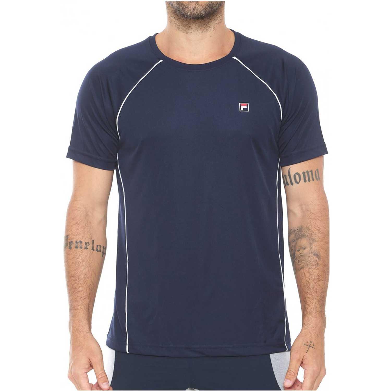 Fila camiseta masc. fila cinci Azul / blanco Camisetas y Polos Deportivos