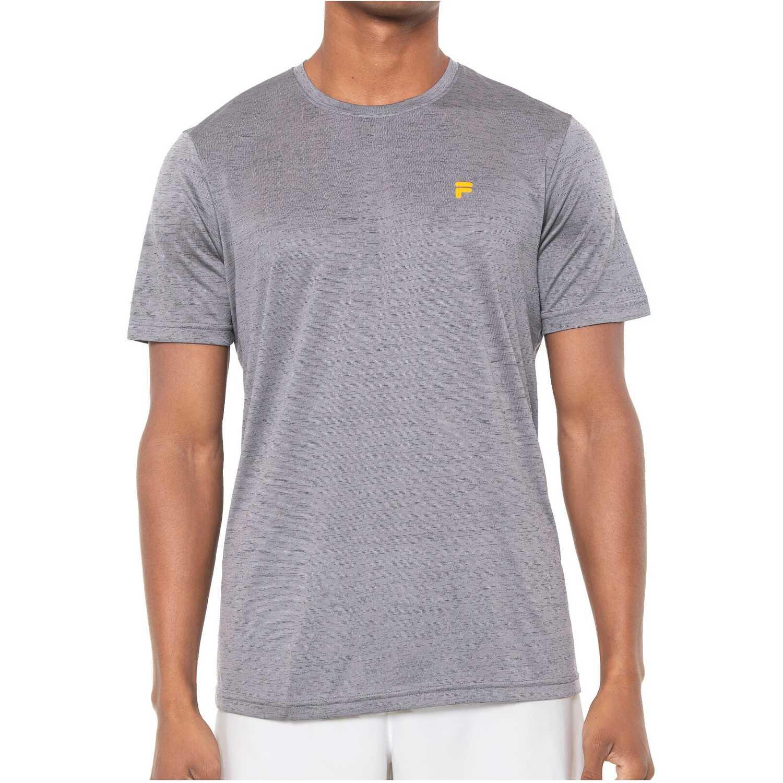 Fila camiseta masc. fila basic soft Plomo Camisetas y Polos Deportivos
