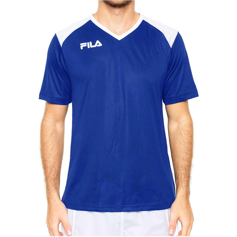 Fila masc. camiseta fila masc accetta ii Azulino / blanco Camisetas y Polos Deportivos
