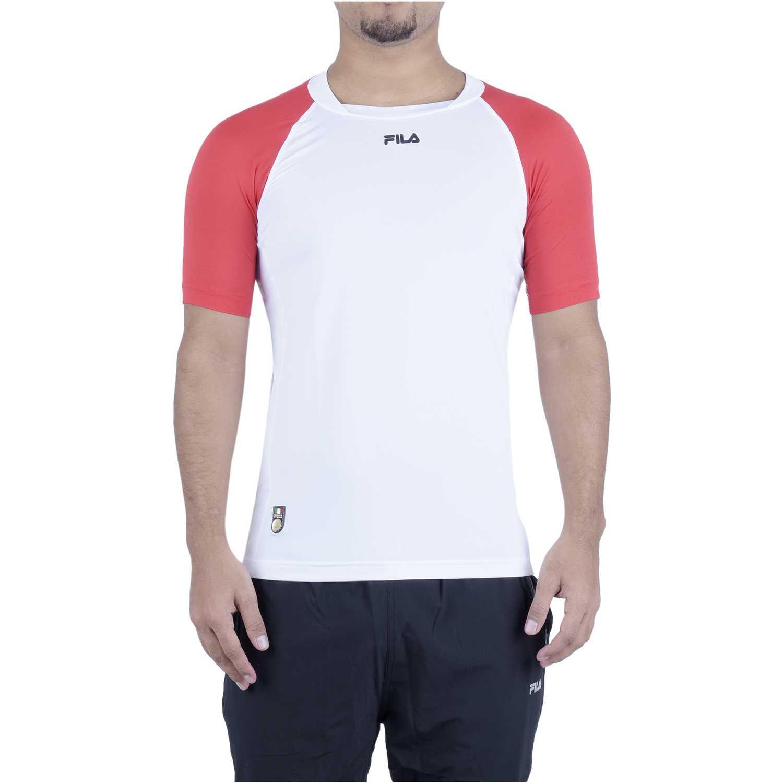 Fila camiseta masc. fila action Blanco Camisetas y Polos Deportivos