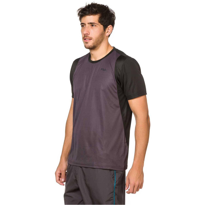 Deportivo de Hombre Fila Gris / negro camiseta masc. fila energy