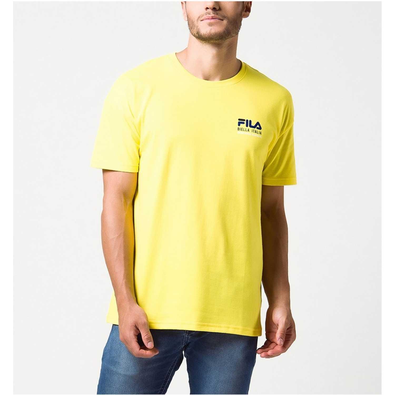 Fila camiseta masc. fila nineteen eleven Amarillo Camisetas y Polos Deportivos