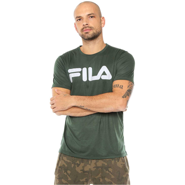 Polo de Hombre Fila Verde camiseta masc. fila letter train