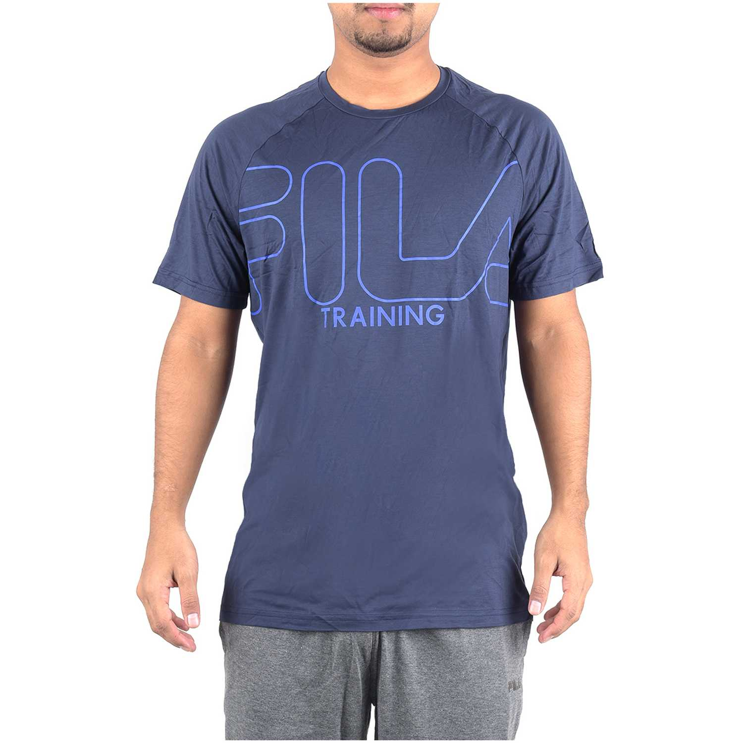 Polo de Hombre Fila Navy camiseta masc. fila train essential