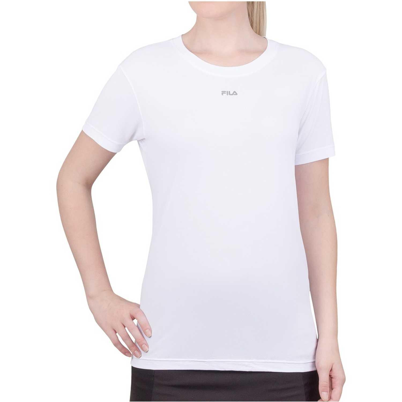 Polo de Mujer Fila Blanco camiseta fem. fila basic light ii