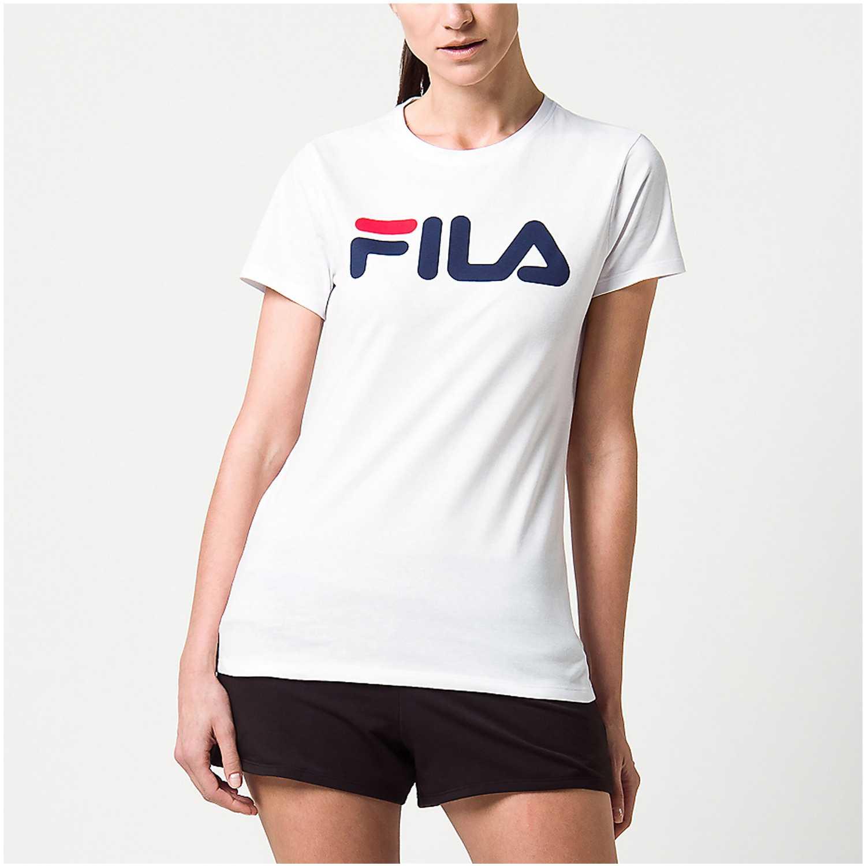 Fila camiseta fem. fila letter iii Blanco Polos
