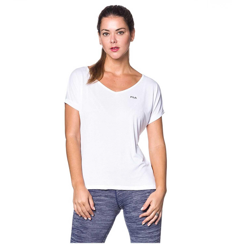 Polo de Mujer Fila Blanco blusa fem. fila dots