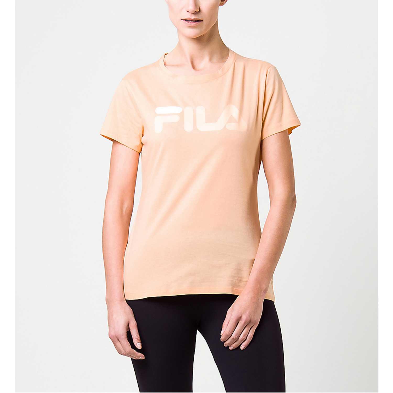 Fila camiseta fem. fila letter new Salmón Polos