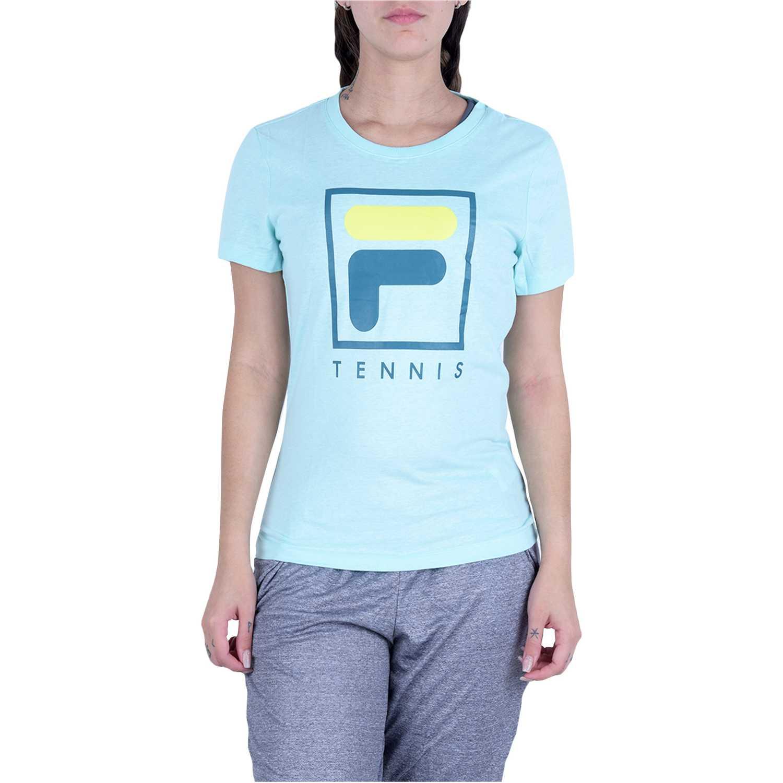 Deportivo de Mujer Fila Verde camiseta fem. fila soft urban