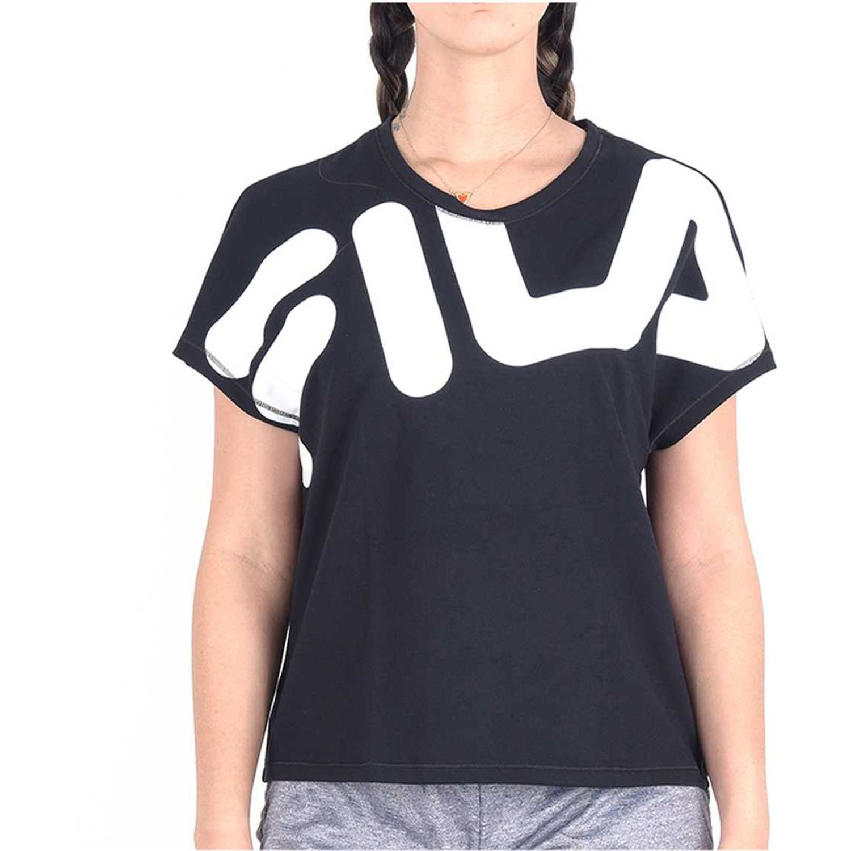 Fila camiseta fem. fila honey Negro / blanco Polos