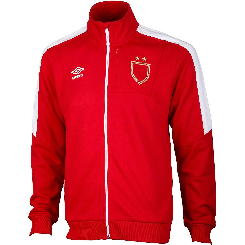 Umbro sash walkout jacket Rojo / blanco