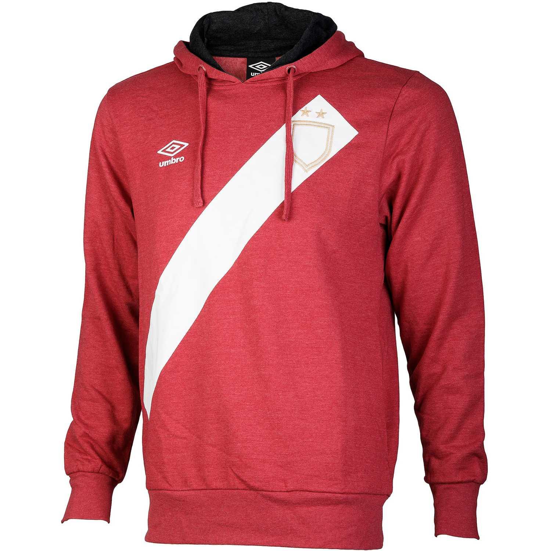 Deportivo de Hombre Umbro Rojo / blanco sash hoody