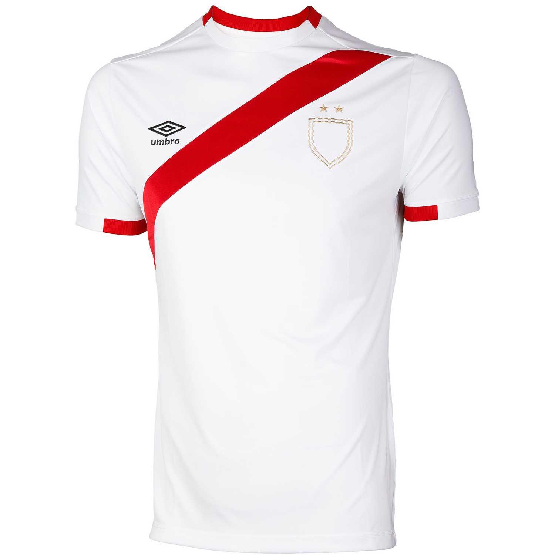 Camiseta de Hombre Umbro Blanco / rojo sash jersey