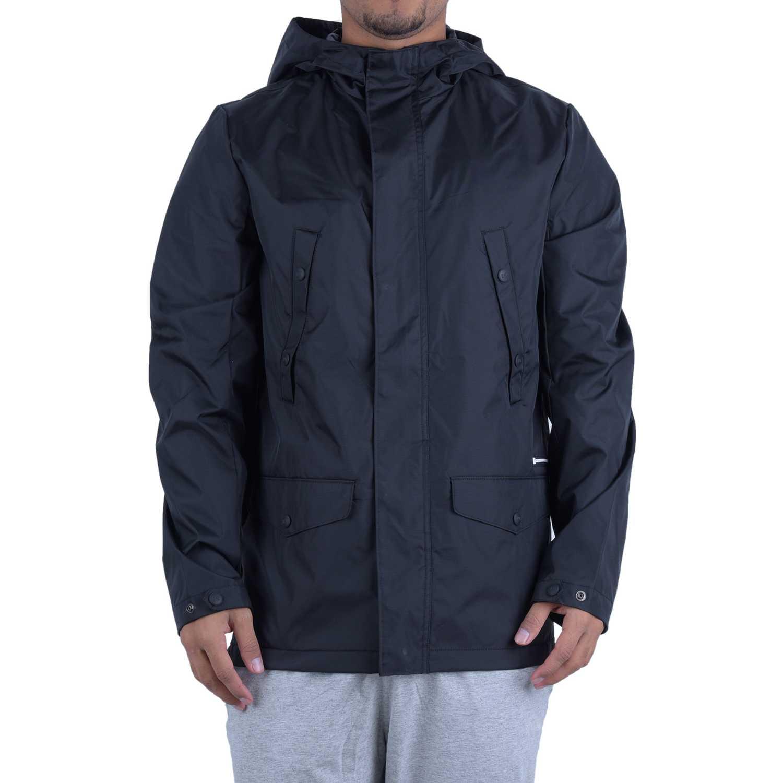 CAT forecast rain trench jacket Negro Casacas de Atletismo