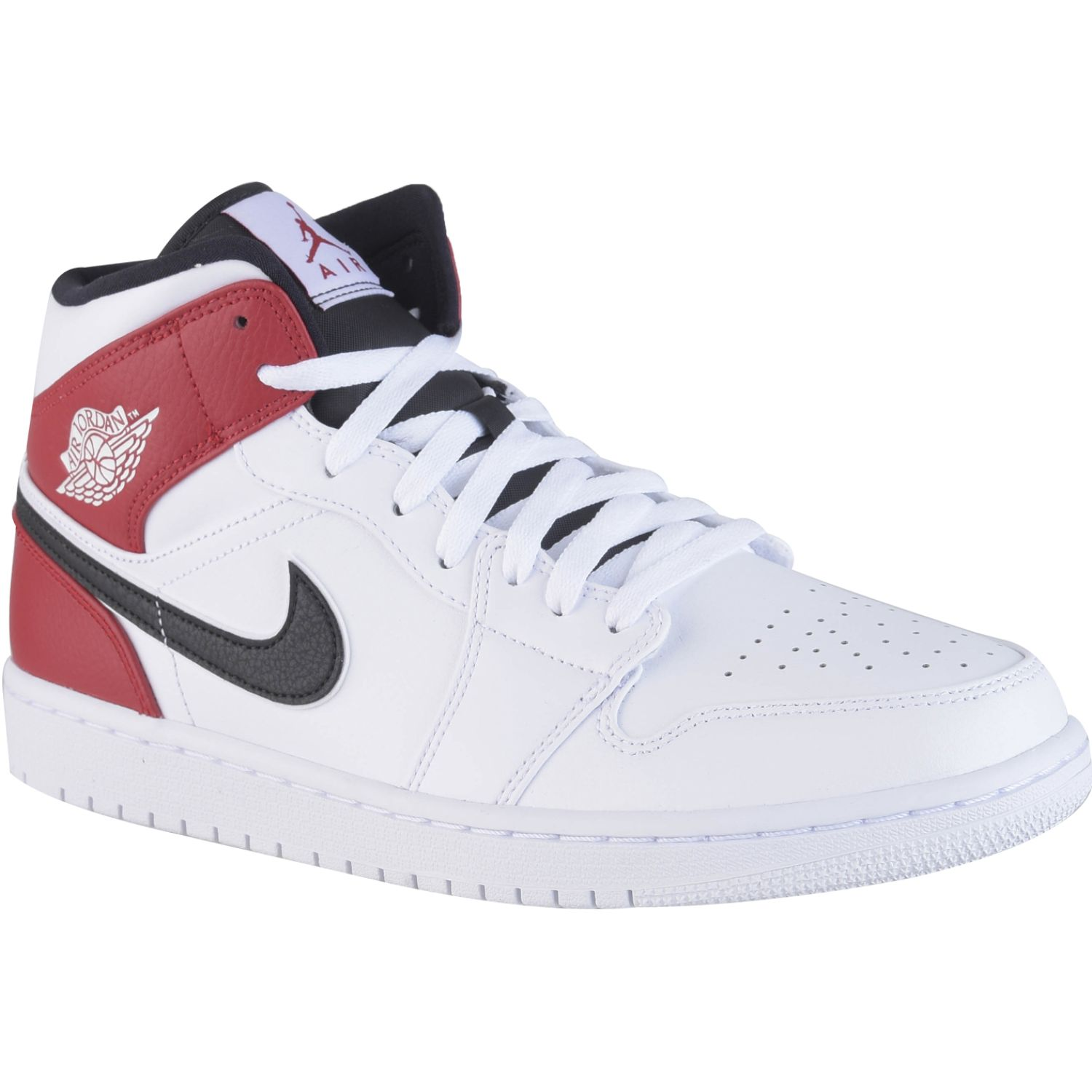 air jordan 1 rojo y blanco