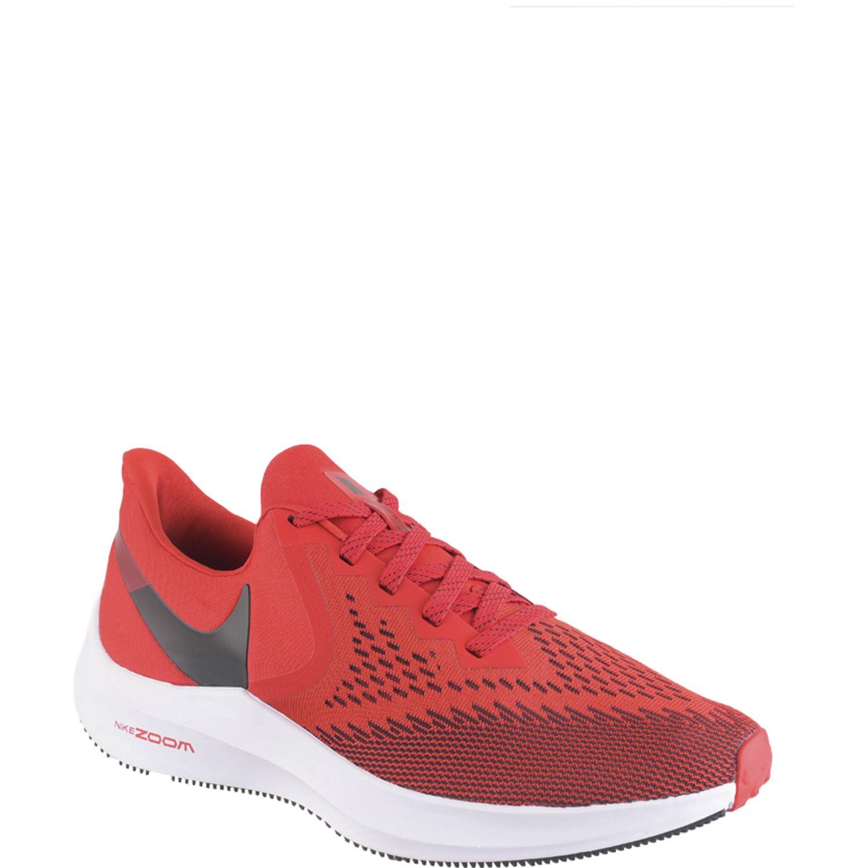 Nike nike zoom winflo 6 Rojo / blanco Running en pista