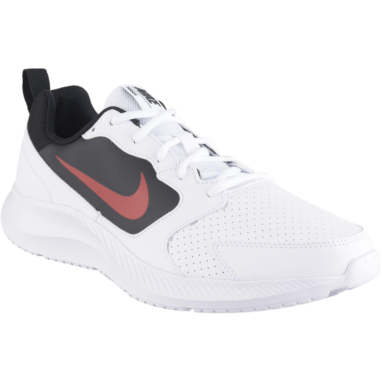 Nike nike todos Blanco / rojo Running en pista