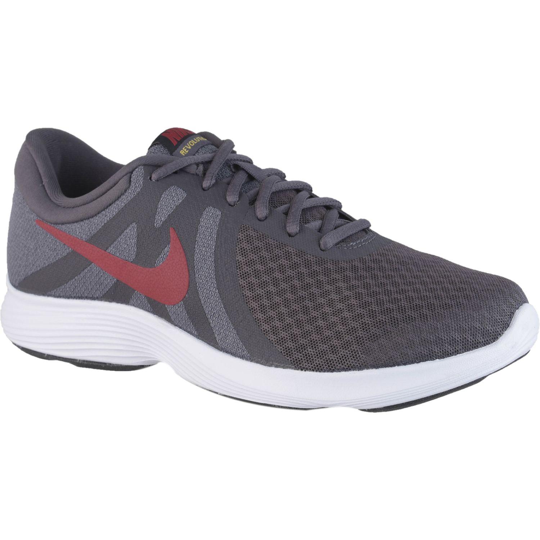 Nike nike revolution 4 Plomo / naranja Running en pista