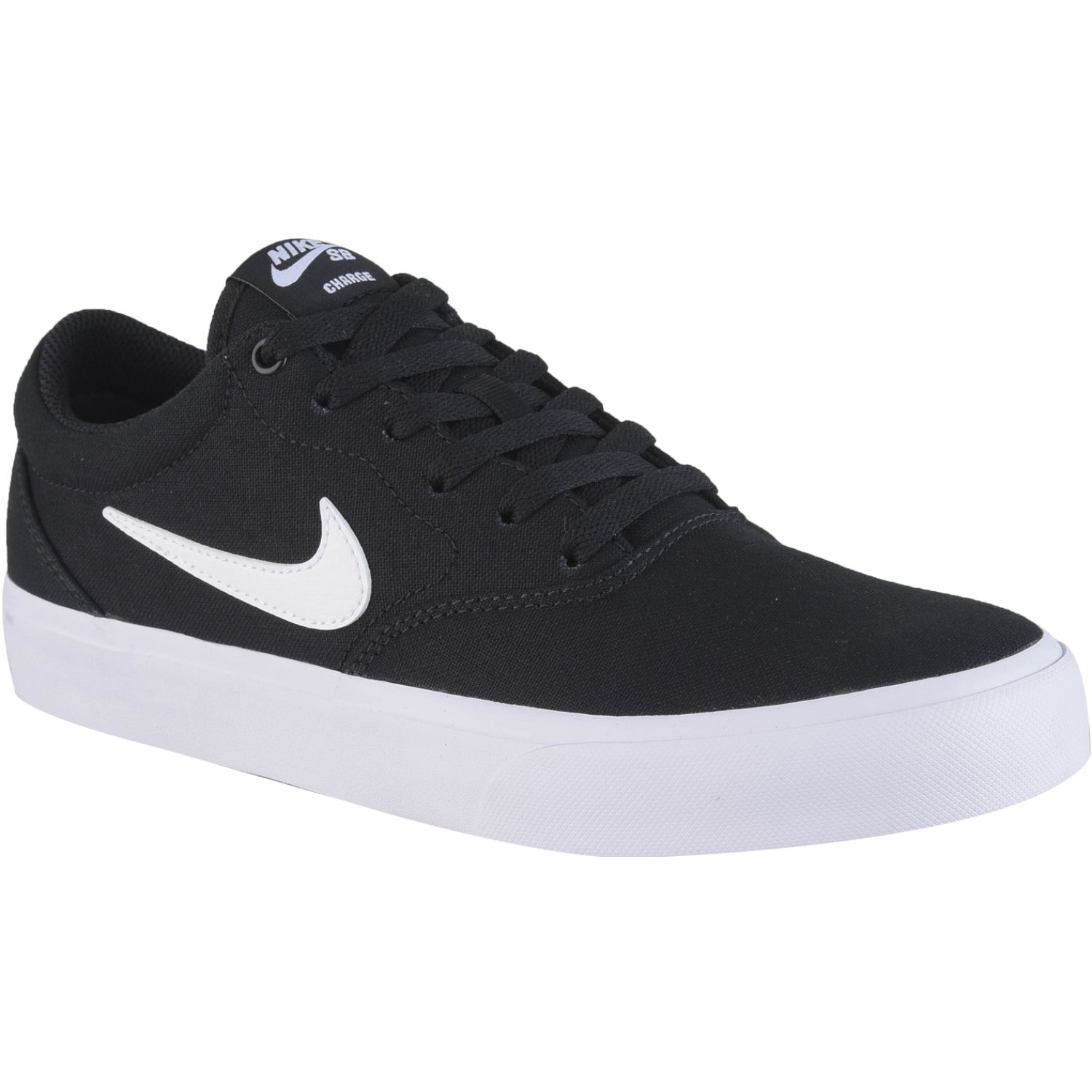 Nike nike sb charge slr Negro / blanco Walking