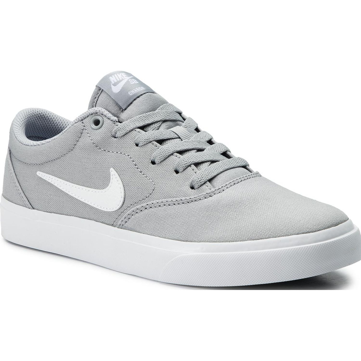 Nike nike sb charge slr Gris / blanco Walking