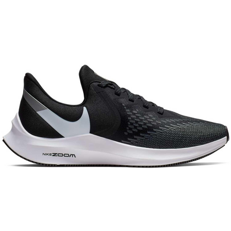 Nike wmns nike zoom winflo 6 Negro blanco Running en pista