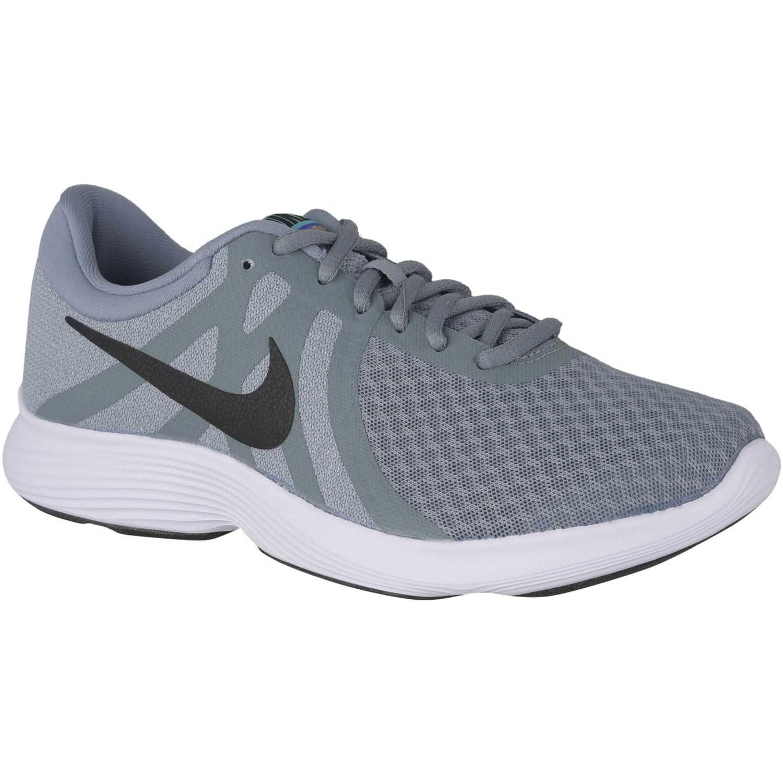 Nike wmns nike revolution 4 Acero / blanco Running en pista