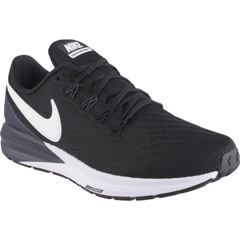 Nike w nike air zoom structure 22 Negro / blanco Running en pista