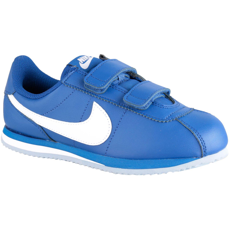 Nike Cortez Basic Sl Bpv Azul / blanco Niños
