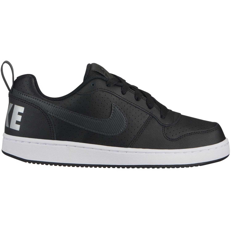 Nike court borough low ep bg Negro / blanco Muchachos